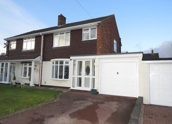Thumbnail 3 bed semi-detached house for sale in Wellesbourne, Tamworth