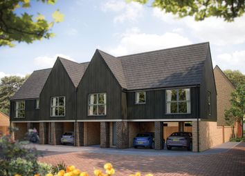 Thumbnail 2 bed semi-detached house for sale in Station Road, Longstanton, Cambridge