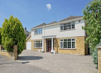 Thumbnail 5 bed detached house for sale in Saviles Close, Eaton Ford, St. Neots