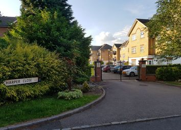 Thumbnail 1 bed flat to rent in Harper Close, London