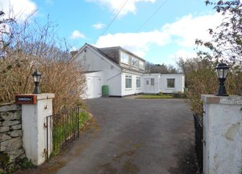 Thumbnail 8 bed detached bungalow for sale in Trescowe Road, Goldsithney, Penzance