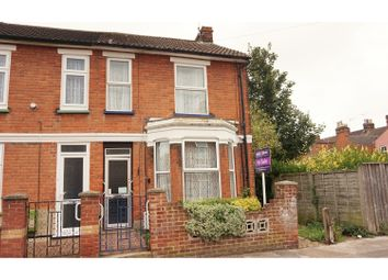 Thumbnail 3 bed end terrace house for sale in Khartoum Road, Ipswich
