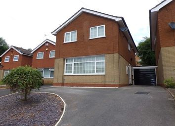 Thumbnail 3 bed detached house to rent in Doulton Close, Birmingham