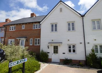 Thumbnail 2 bed terraced house for sale in Hemp Place, Hailsham