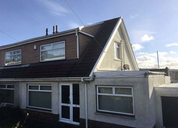 Thumbnail Semi-detached bungalow for sale in Orpheus Road, Ynysforgan, Swansea