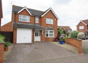 Thumbnail 4 bed detached house for sale in Abbey Road, Sleaford