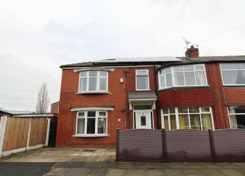 Thumbnail 4 bed semi-detached house for sale in Partington Street, Worsley, Manchester