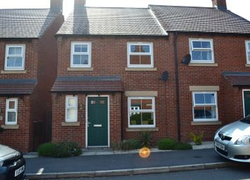 Thumbnail 3 bed semi-detached house for sale in Hope Way, Church Gresley, Swadlincote