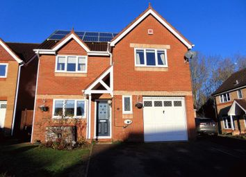 Thumbnail 4 bed detached house for sale in Quantock Close, Daventry