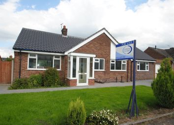 Thumbnail 3 bedroom bungalow to rent in Highfield Avenue, Appleton, Warrington