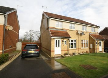 Thumbnail 3 bed semi-detached house for sale in Wallace Brae Drive, Reddingmuirhead