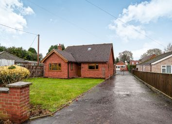 Thumbnail 5 bedroom bungalow for sale in School Lane, Northwold, Thetford