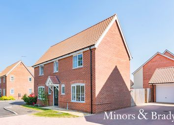 Thumbnail 4 bed detached house for sale in Wychelm Way, Dereham