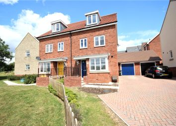4 bed semi-detached house for sale in Hull Road, Nightingale Rise, Moredon, Swindon SN2