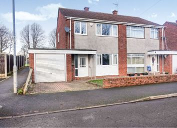Thumbnail 3 bed end terrace house for sale in Kestrel Close, Caldicot
