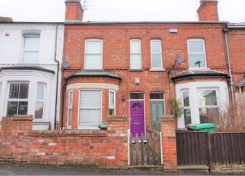 Thumbnail 2 bed terraced house for sale in Hampstead Road, Nottingham