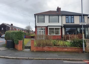 Thumbnail 3 bed semi-detached house to rent in Maureen Avenue, Crumpsall, Manchester