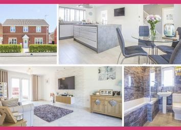 Thumbnail 4 bed detached house for sale in Harrison Drive, St. Mellons, Cardiff