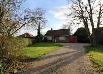 Thumbnail 3 bed detached bungalow for sale in Bungay Road, Poringland, Norwich