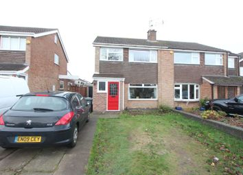 Thumbnail 3 bed semi-detached house for sale in Waterfall Way, Barwell, Leicester