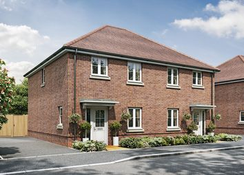 "Thumbnail 3 bed semi-detached house for sale in ""The Oak"" at New Barn Lane, North Bersted, Bognor Regis"