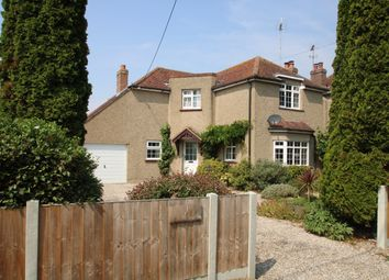 Thumbnail 3 bed detached house to rent in Church Road, Elmstead, Colchester