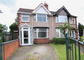 Thumbnail 3 bedroom semi-detached house for sale in Ernsford Avenue, Stoke, Coventry