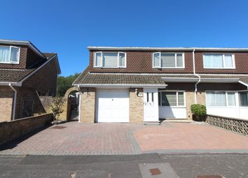 Thumbnail 4 bed semi-detached house for sale in Meadow Walk, Gosport
