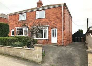 Thumbnail 3 bed semi-detached house for sale in College Road, Cranwell Village, Sleaford