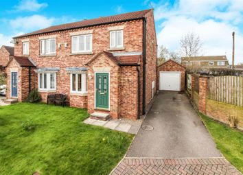 Thumbnail 3 bed semi-detached house for sale in St. Quintin Field, Nafferton, Driffield