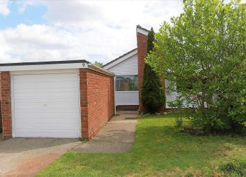 Thumbnail 3 bed detached bungalow for sale in Crowland Close, Ipswich