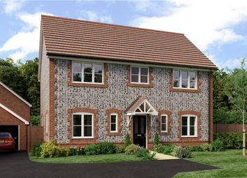 "Thumbnail 4 bedroom detached house for sale in ""Hemingway"" at Worthing Road, Southwater, Horsham"
