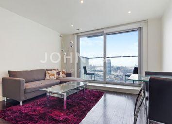 Thumbnail 1 bed flat to rent in Pan Peninsula Square, London