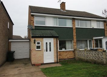 Thumbnail 3 bed semi-detached house to rent in Warwick Way, North Anston, Sheffield, South Yorkshire
