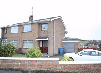 Thumbnail 3 bed semi-detached house to rent in Hillhead Crescent, Ballynahinch, Down