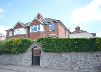 Thumbnail 3 bed semi-detached house for sale in Church Hill, Pinhoe, Exeter, Devon