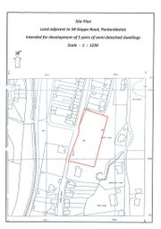 Thumbnail Land for sale in Goppa Road, Pontarddulais, Swansea