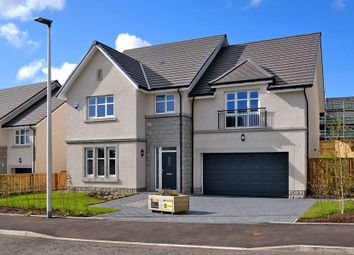 """Thumbnail 5 bed detached house for sale in """"The Garvie - Plot 13"""" at Balhalgardy Rise, Inverurie"""