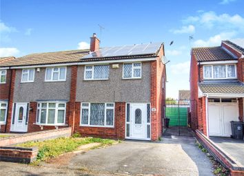 Thumbnail 3 bed semi-detached house for sale in Jacklin Drive, Rushey Mead, Leicester
