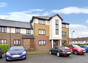 Thumbnail 2 bed flat for sale in Semple Gardens, Chatham, Kent