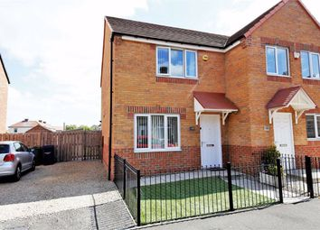 Thumbnail 2 bed semi-detached house for sale in Charles Street, Boldon Colliery, Boldon Colliery