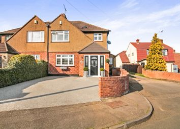 Thumbnail 4 bedroom semi-detached house for sale in Cranbourne Drive, Hoddesdon