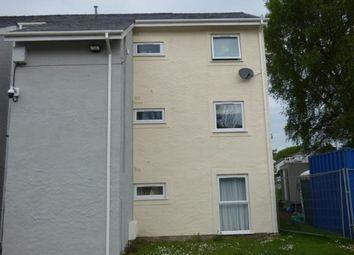 Thumbnail 2 bedroom flat for sale in Ffordd Siabod, Y Felinheli, Gwynedd