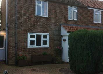 Thumbnail 2 bed semi-detached house for sale in Poplar Avenue, Peterborough