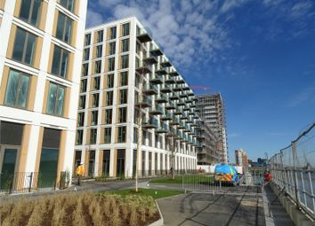 Thumbnail 3 bed flat for sale in Endeavour House, Royal Wharf, London