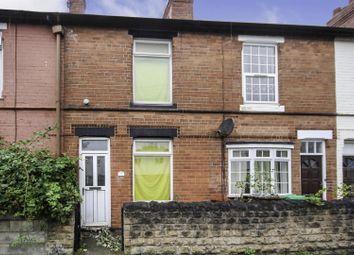 Thumbnail 2 bed terraced house for sale in Bulwell Lane, Basford, Nottingham