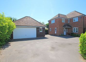 Thumbnail 4 bed detached house for sale in Stockbridge Road, Timsbury, Romsey