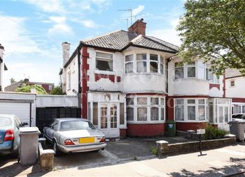 Thumbnail 3 bed semi-detached house for sale in Ellesmere Road, Dollis Hill, London