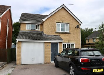 Thumbnail 3 bed detached house for sale in Anthony Hill Court, Pentrebach Merthyr Tydfil