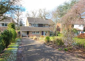 Thumbnail 4 bed detached house for sale in Denning Close, Fleet